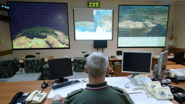 Combat duty officers at the command center of the Don-2-N radar - Sputnik Türkiye