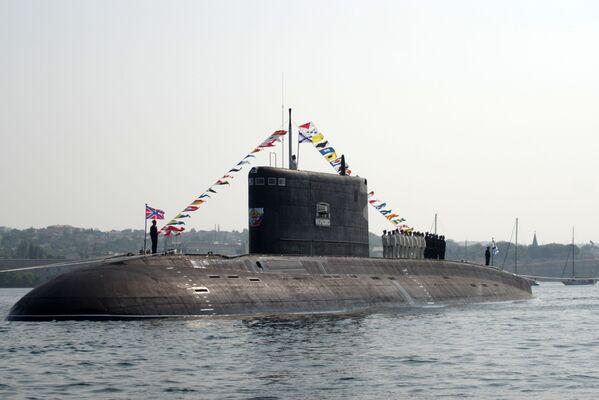 B-261 tipi Novorossiysk  denizaltısı. - Sputnik Türkiye