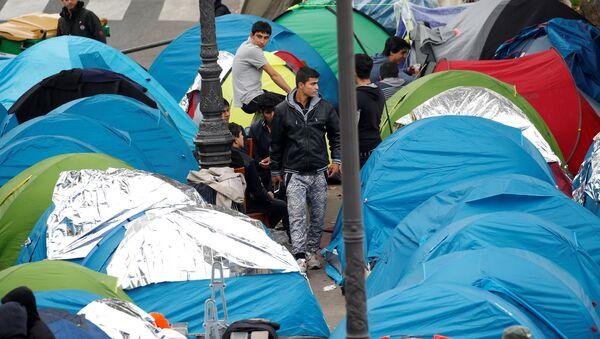 Paris- Calais- Sığınmacı - Sputnik Türkiye