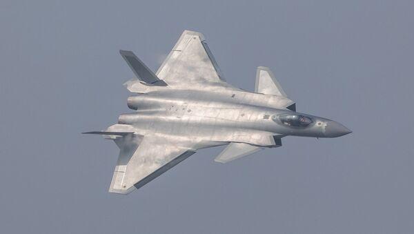 Çin'in yeni J-20 hayalet savaş uçağı - Sputnik Türkiye