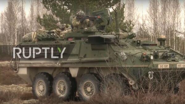 NATO'nun Letonya'daki tatbikatı sona erdi - Sputnik Türkiye