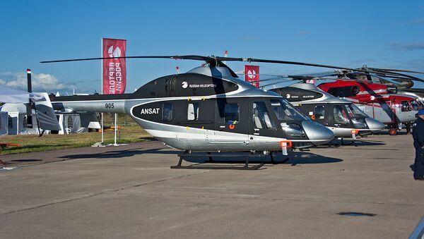 Ansat multipurpose utility helicopters - Sputnik Türkiye