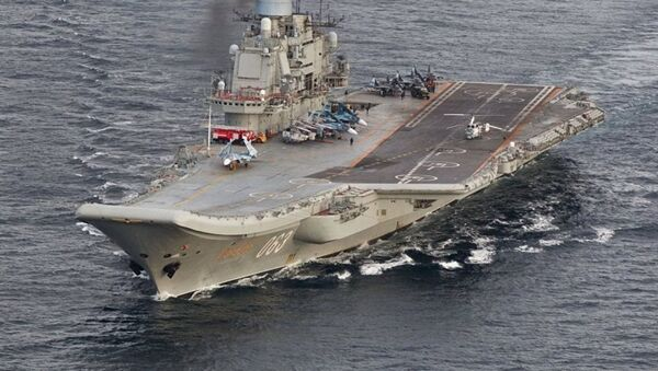 Rusya'nın uçak gemisi Amiral Kuznetsov - Sputnik Türkiye
