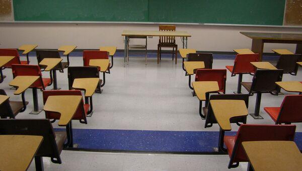 Empty Classroom - Sputnik Türkiye