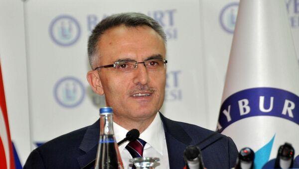 Maliye Bakanı Naci Ağbal, Bayburt Üniversitesi'nin akademik yıl açılış töreninde konuştu - Sputnik Türkiye