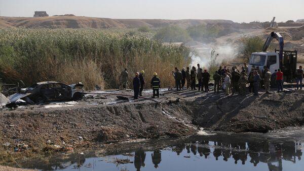 Irak'ta intihar saldırısı - Sputnik Türkiye