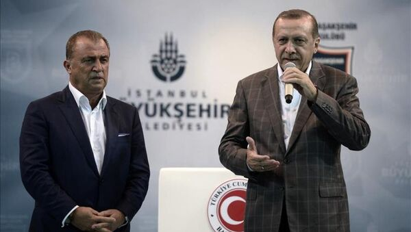 Fatih Terim - Recep Tayyip Erdoğan - Sputnik Türkiye