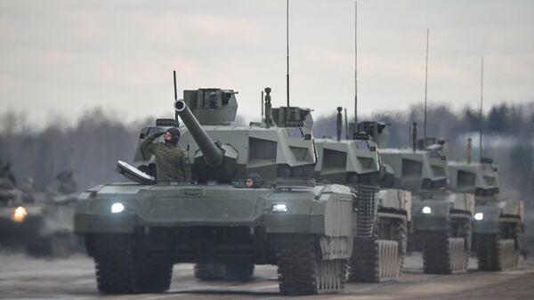 Armata T-14 tankı - Sputnik Türkiye