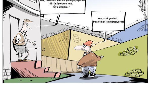 Almanya'da 'Yeni Berlin Duvarı' örülüyor - Sputnik Türkiye