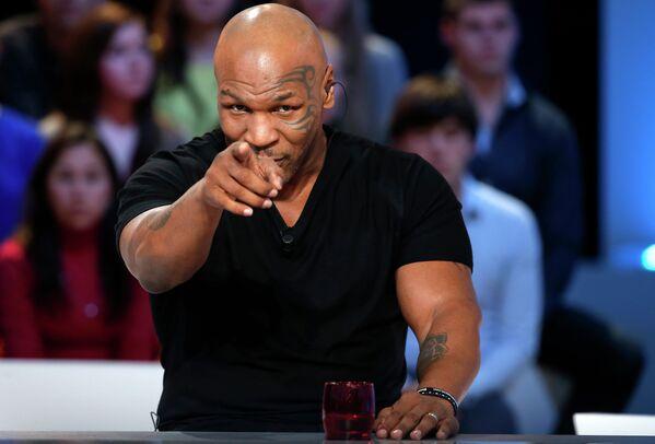 ABD'li eski boksör Mike Tyson - Sputnik Türkiye