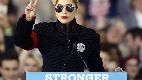 ABD'li şarkıcı Lady Gaga - Sputnik Türkiye