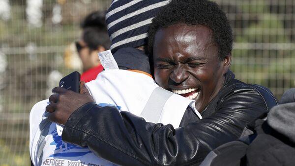 Afrikalı sığınmacılar - Sputnik Türkiye