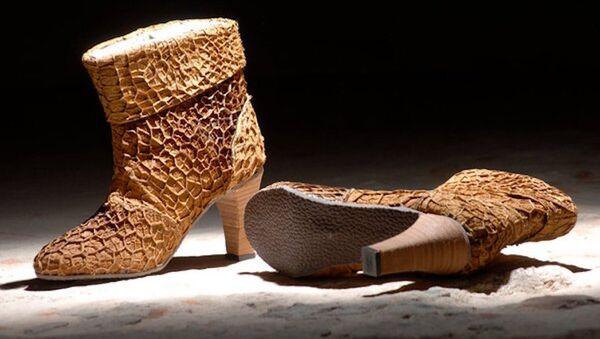 İnek midesinden ayakkabı - Sputnik Türkiye