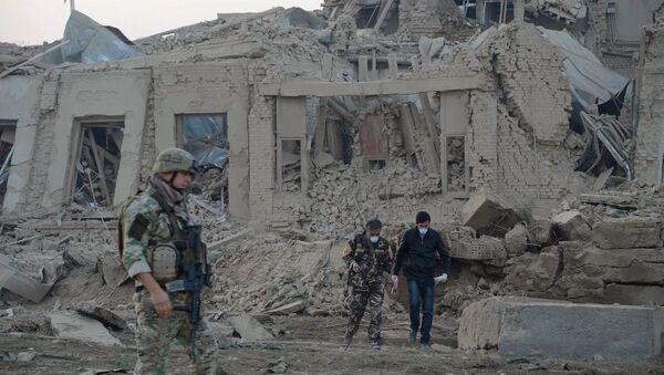 Afganistan'daki Alman Başkonsolosluğu yakınındaki patlama sonrası - Sputnik Türkiye