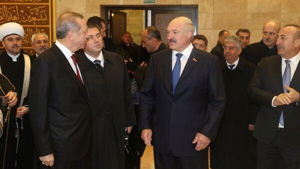 Recep Tayyip Erdoğan - Aleksandr Lukaşenko - Sputnik Türkiye