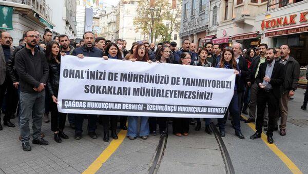 Çağdaş Hukukçular Derneği - Özgür Hukukçular Derneği - Sputnik Türkiye