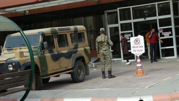 El Bab IŞİD saldırı - Sputnik Türkiye