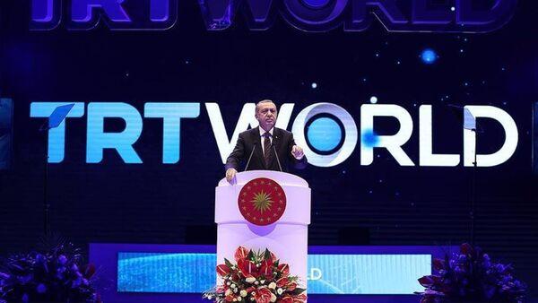 Cumhurbaşkanı Recep Tayyip Erdoğan, - Sputnik Türkiye