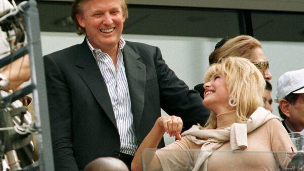 ABD Başkanı seçilen Donald Trump'ın ilk eşi Ivana Trump - Sputnik Türkiye