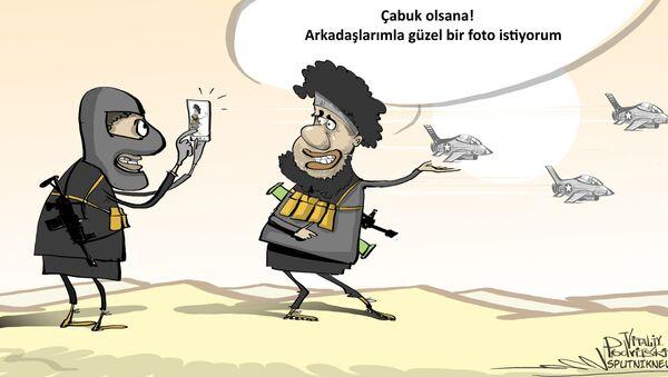 IŞİD, koalisyon uçaklarına saldırıları yasakladı - Sputnik Türkiye