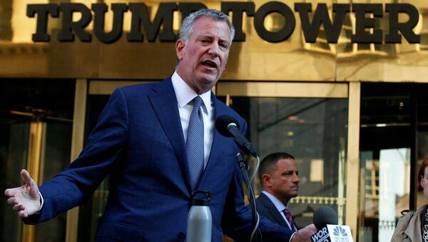 New York Belediye Başkanı Bill de Blasio - Sputnik Türkiye