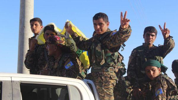 ÖSO komutanlarından Efrini, son 2 gündür El Bab çevresinde bir çok köyü alarak Afrin'den Kobani yönüne 12 kilometre kalacak şekilde yaklaştıklarını söyledi. - Sputnik Türkiye