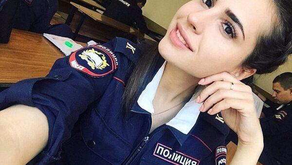 Rusya'da polis güzellik yarışması - Sputnik Türkiye