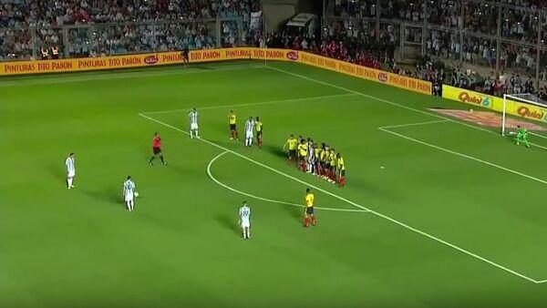 Messi'den FIFA 2018 elemelerinde inanılmaz gol - Sputnik Türkiye