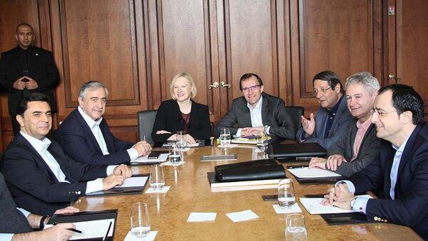 Kıbrıs müzakereleri - İsviçre - Sputnik Türkiye