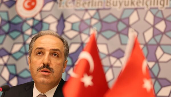 AK Parti İstanbul Milletvekili ve TBMM İnsan Hakları Komisyonu Başkanı Mustafa Yeneroğlu - Sputnik Türkiye