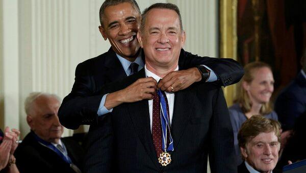 Barack Obama - Tom Hanks - Sputnik Türkiye