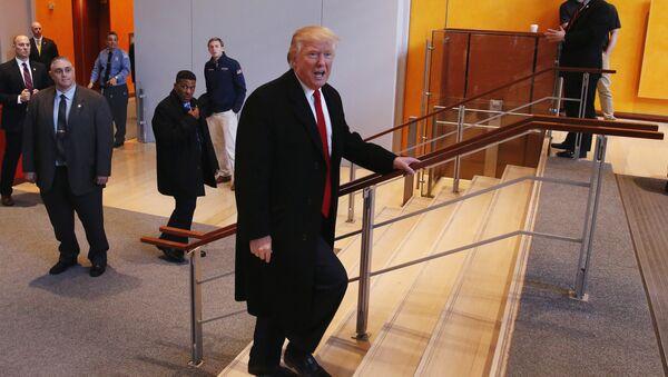 Donald Trump- New York Times - Sputnik Türkiye