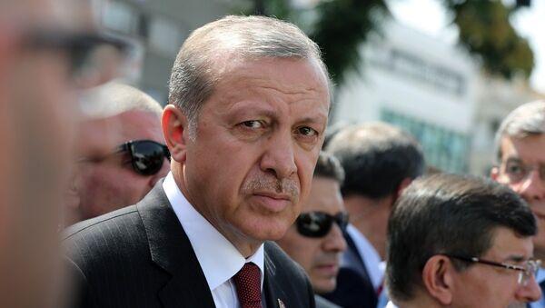 Recep Tayyip Erdogan, presidente de Turquía - Sputnik Türkiye