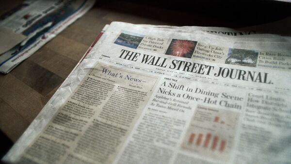 The Wall Street Journal - Sputnik Türkiye