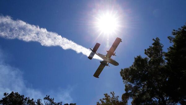 Türkiye, İsrail'e yangın uçağı gönderdi. - Sputnik Türkiye