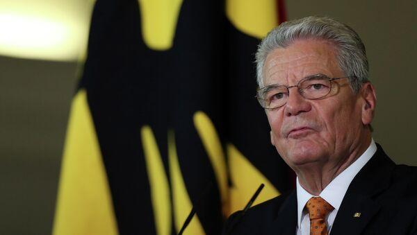 Almanya Cumhurbaşkanı Joachim Gauck - Sputnik Türkiye