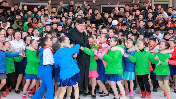 Kim Jong-un babası Kim Jong-il'in doğduğu topraklarda - Sputnik Türkiye