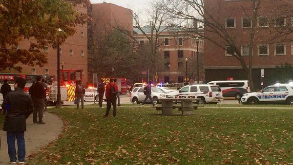 ABD'deki Ohio Eyalet Üniversitesi'nde silahlı saldırı - Sputnik Türkiye