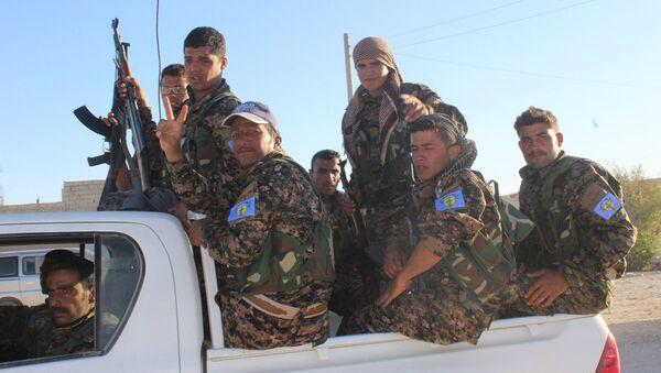 Demokratik Suriye Güçleri, Halep'te - Sputnik Türkiye