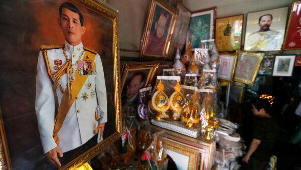 Tayland'ın yeni kralı Maha Vajiralongkorn - Sputnik Türkiye
