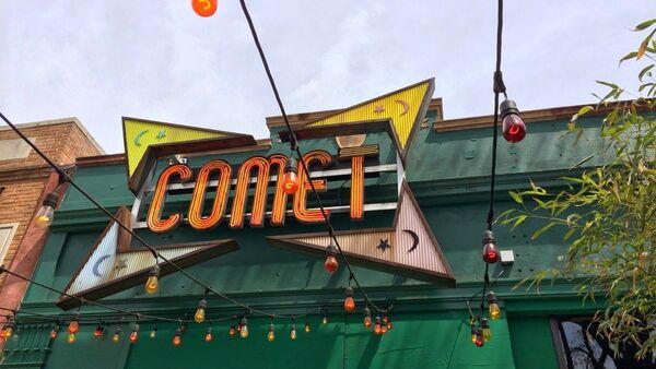 ABD'de komplo teorisinde adı geçen pizza dükkanı Comet Ping Pong - Sputnik Türkiye