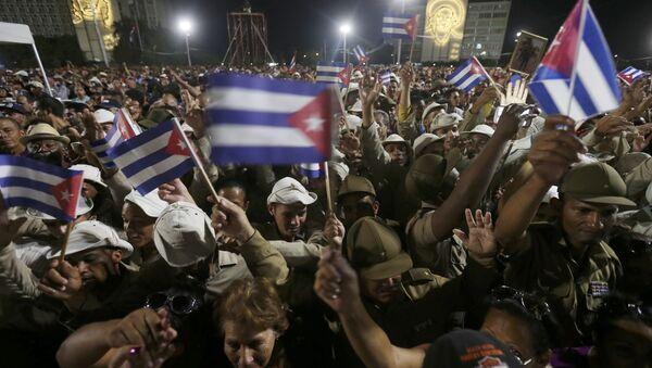 Küba / Devrim Meydanı / Fidel Castro cenaze - Sputnik Türkiye