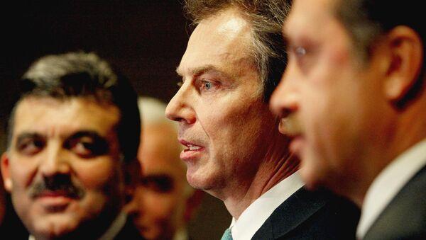 Recep Tayyip Erdoğan - Tony Blair - Abdullah Gül - Sputnik Türkiye
