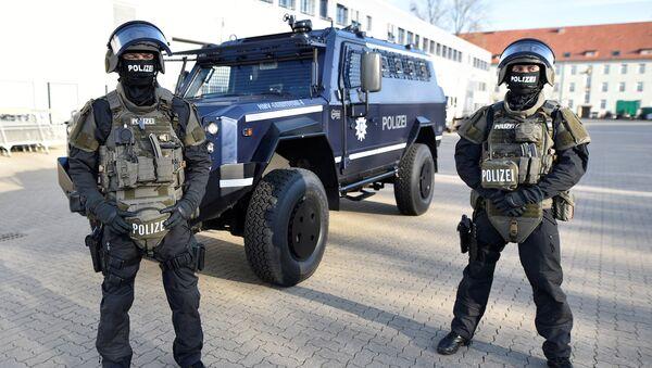 Alman polisi - Sputnik Türkiye