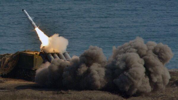 Ukrayna'nın Kırım yakınlarındaki füze denemeleri - Sputnik Türkiye