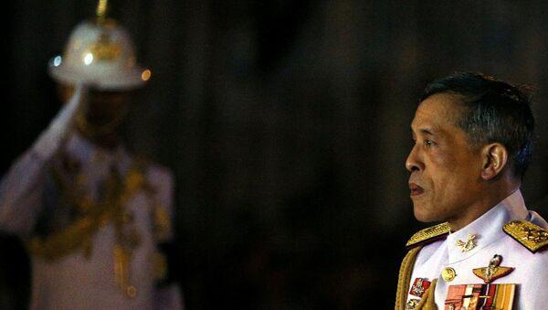 Yeni Tayland Kralı Maha Vajiralongkorn tahta oturdu - Sputnik Türkiye