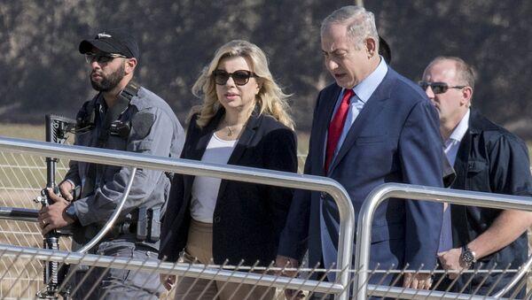 Sara ve Binyamin Netanyahu - Sputnik Türkiye