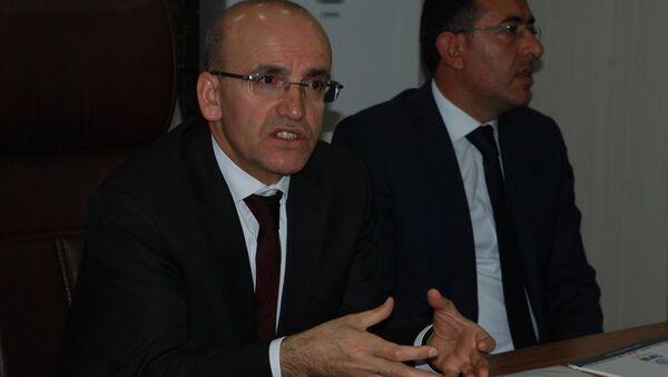 Mehmet Şimşek Batman'da konuştu - Sputnik Türkiye