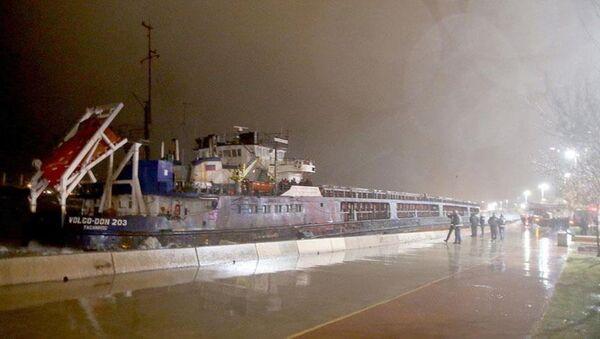 karaya oturan kuruyük gemisi - Sputnik Türkiye