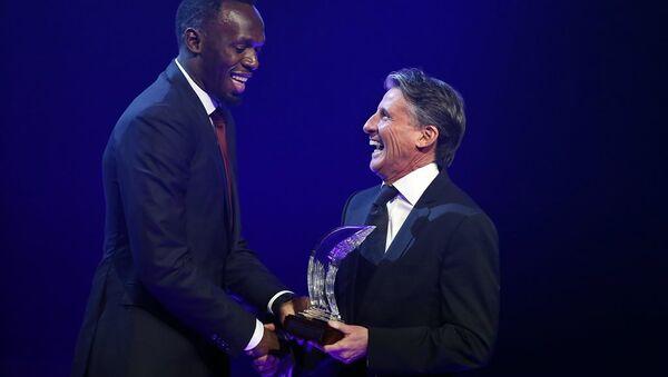Usain Bolt - Yılın Atleti Ödülü - Sputnik Türkiye